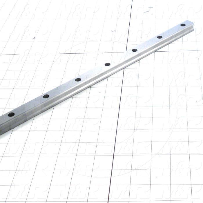 Slide (Rail) Guide, Rail, Steel, 20 mm Width of Rail, 1360 mm Length of Rail