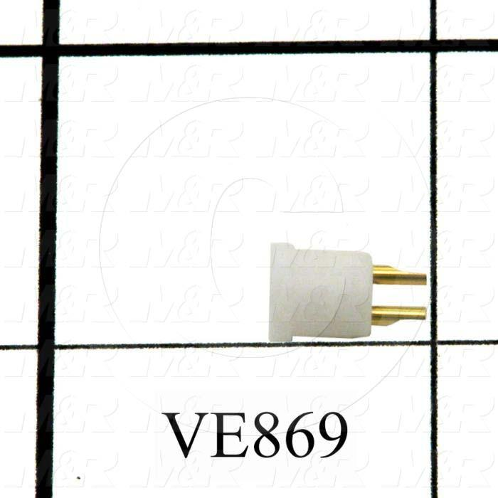 Socket, For Lamp Connector, 2 Positions
