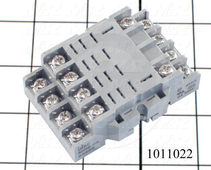 Socket for Relay, 14 Pins, DIN Rail, Use For RH4B Relays