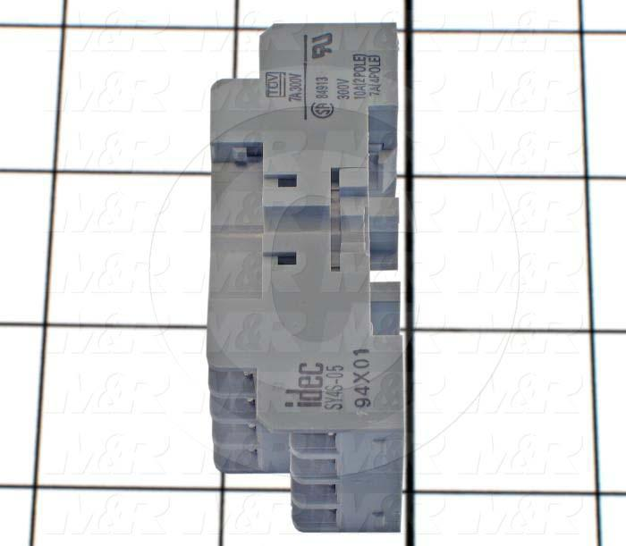 Socket for Relay, 14 Pins, DIN Rail, Use For RY4S, RY42S Relays
