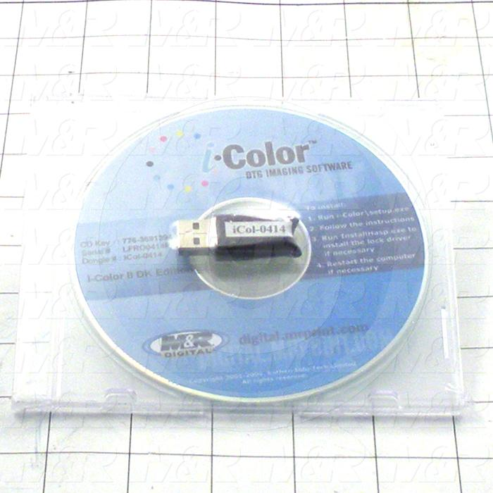 Software For Printer, I-Color DK Software Kit, V2, Beta Release With Dongle Code