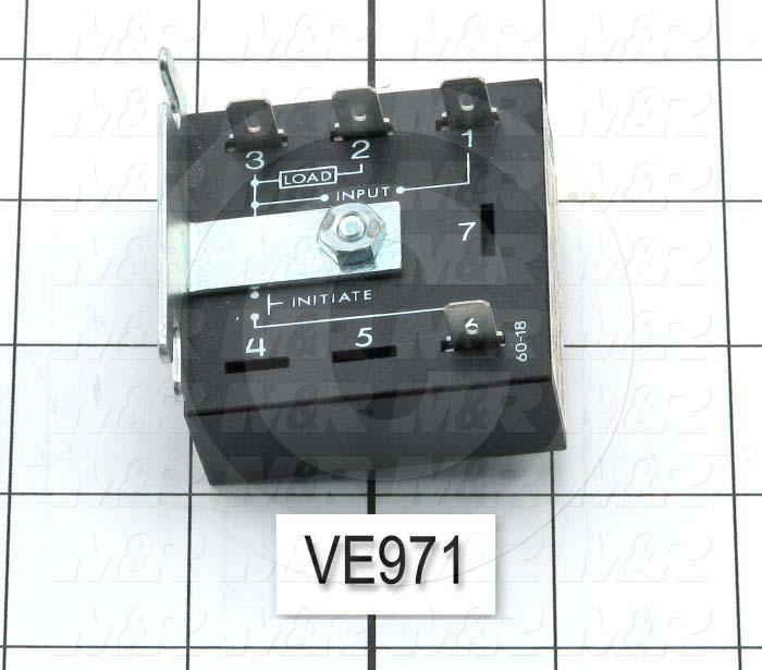 Solid State Relay, 1A Max Output, 230VAC