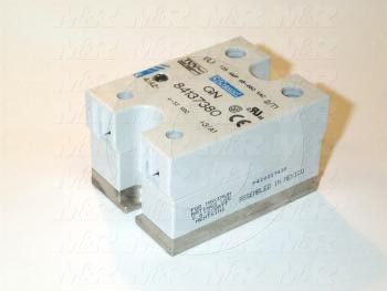 Solid State Relay, 4-32VDC Input, 48-660VAC Output, 120A