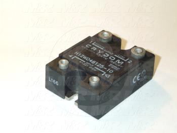 Solid State Relay, 4-32VDC Input, 48-660VAC Output, 125A
