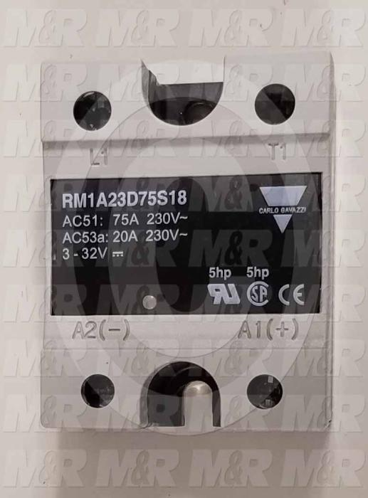 Solid State Relay, 4.5-32VDC Input, 75A