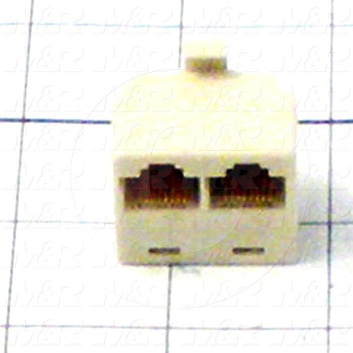 Splitter, RJ45, 2 Inputs, 1 Output