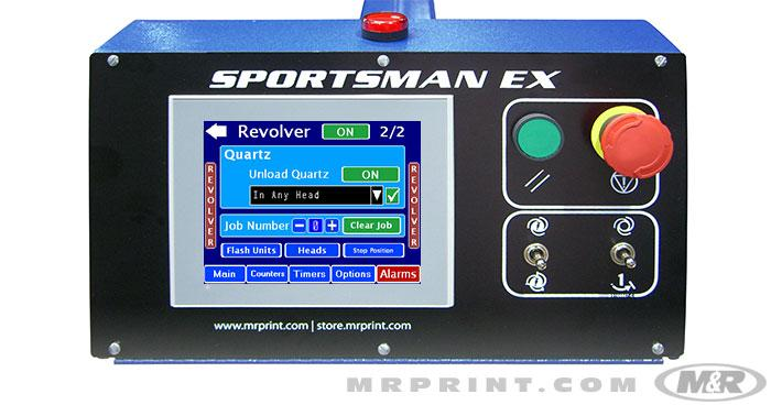 SPORTSMAN® EX Automatic Screen Printing Press