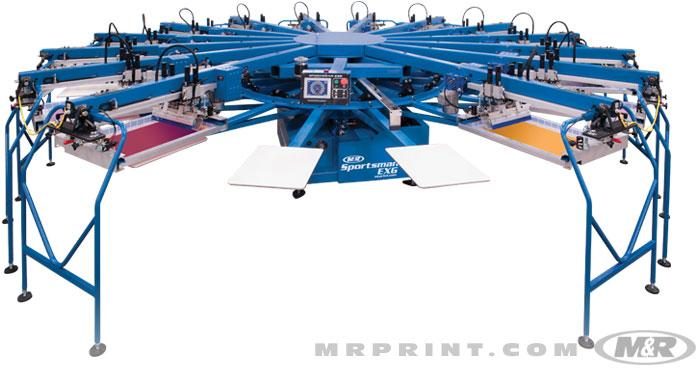 Sportsman EXG Automatic Screen Printing Press