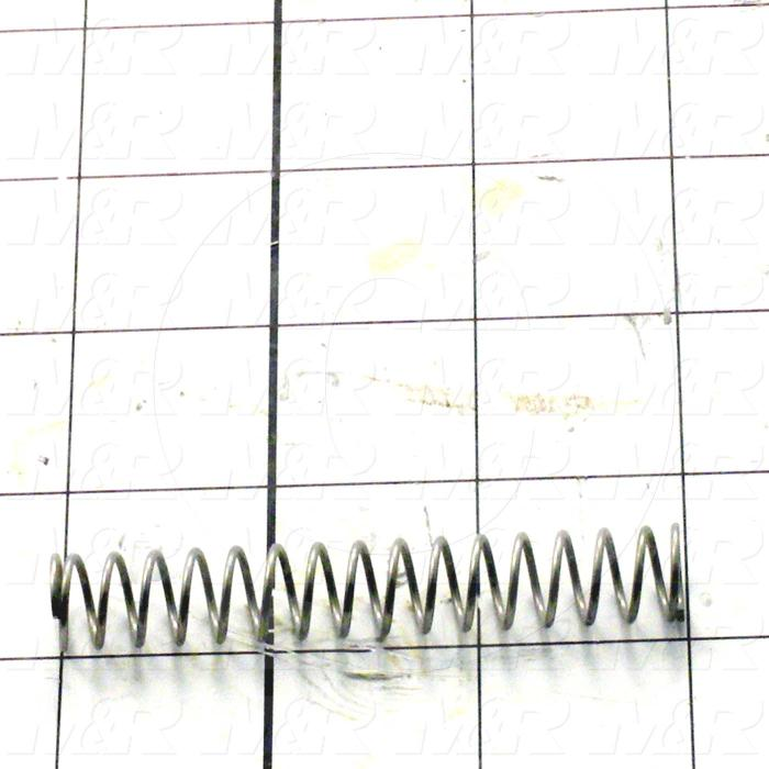 3043111    springs  compression type  0 045 in  wire