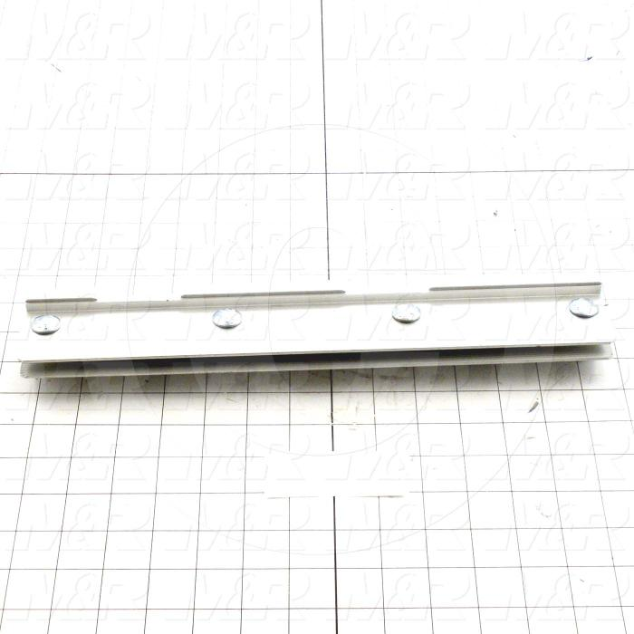 Squeegee Holders, Textile Press, Double Notch, Length 14""