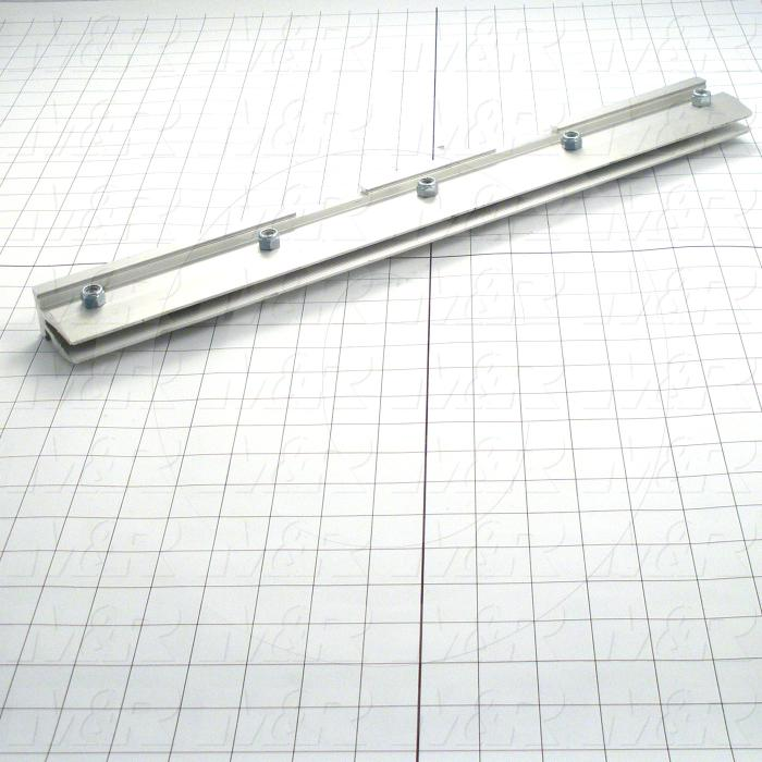 Squeegee Holders, Textile Press, Double Notch, Length 20""