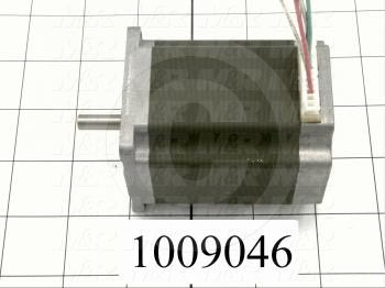 Stepper Motor, 2-Phase Hybrid, 1.8 Degree Indexing Angle, Single Shaft