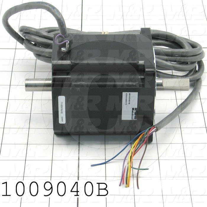 Stepper Motor, Compumotor, 34 Frame, Double Shaft, 170VDC, 10FT Leads