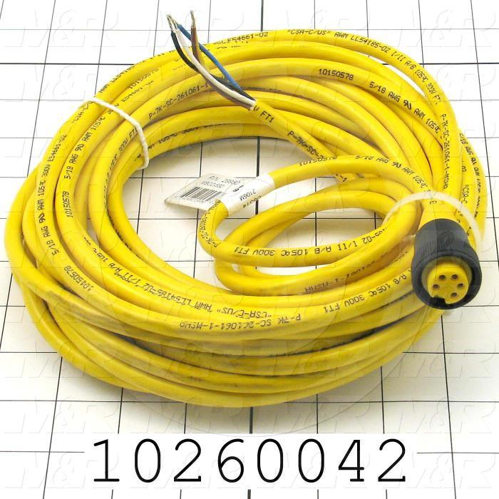 Switch Cable, For Opto-Touch Button Switch, 30'