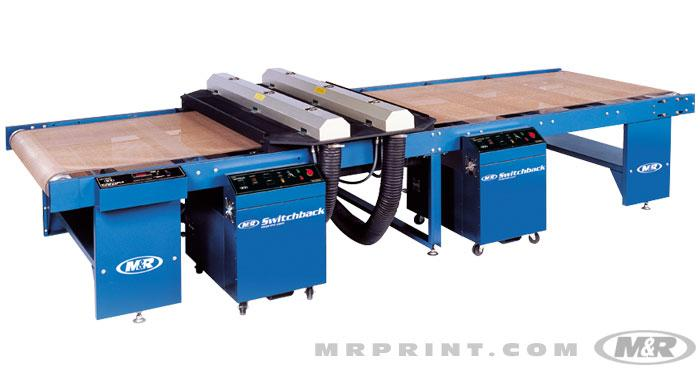 Switchback UV Curing System