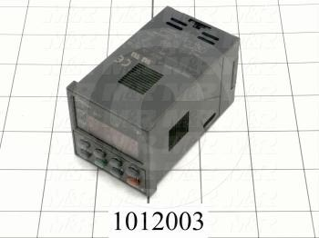 Temperature Controller, 1/16 DIN, R-Thermocouple, Output 1: Relay, 85-264VAC