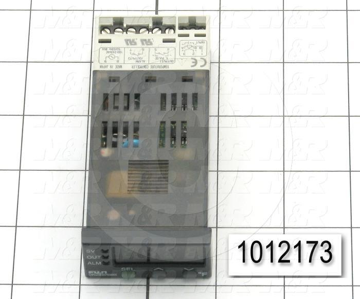 Temperature Controller, 1/32 DIN, Output 1: Relay, 115vac
