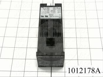Temperature Controller, R-Thermocouple, 1 Alarm, Output 1: Relay, 100-240VAC