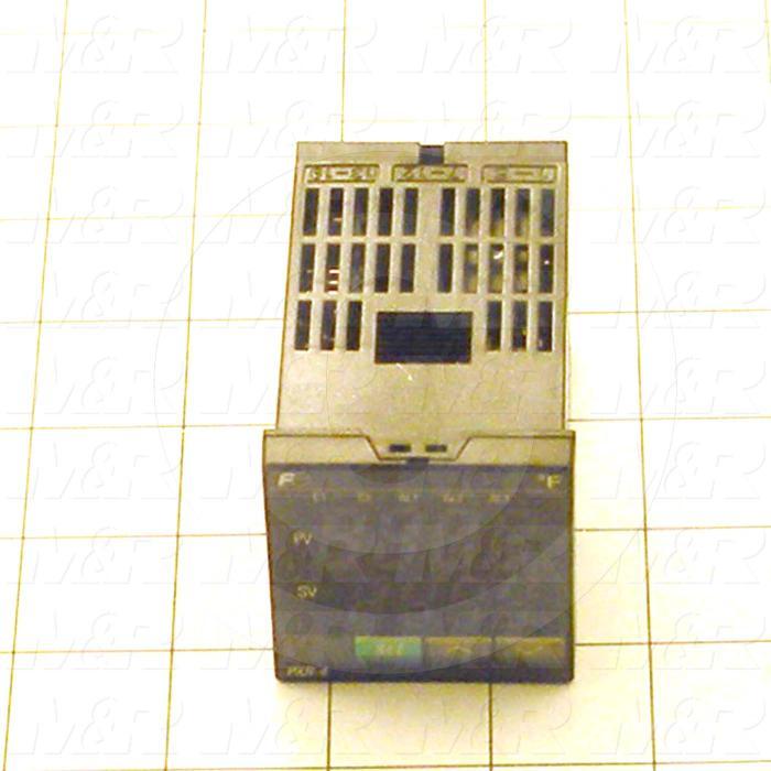 Temperature Controller, Temperature LIMIT, 1 Alarm, Fuzzy Logic Control with PID Auto Tune, Output 1: 4-20mA, 24VDC
