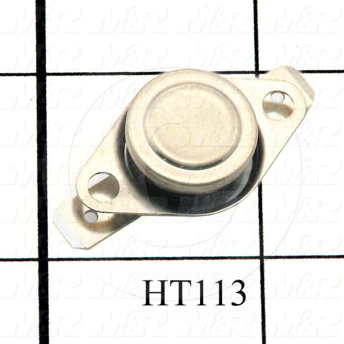 Temperature Switch, 200ºF, 120VAC, 15A