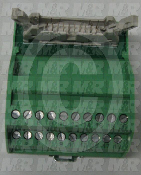 Terminal Block, 20 Pins, For Use With Cable 1001159