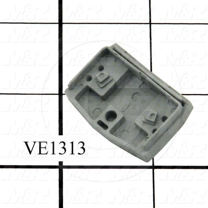 Terminal Block Accessories, End Plate With Flange