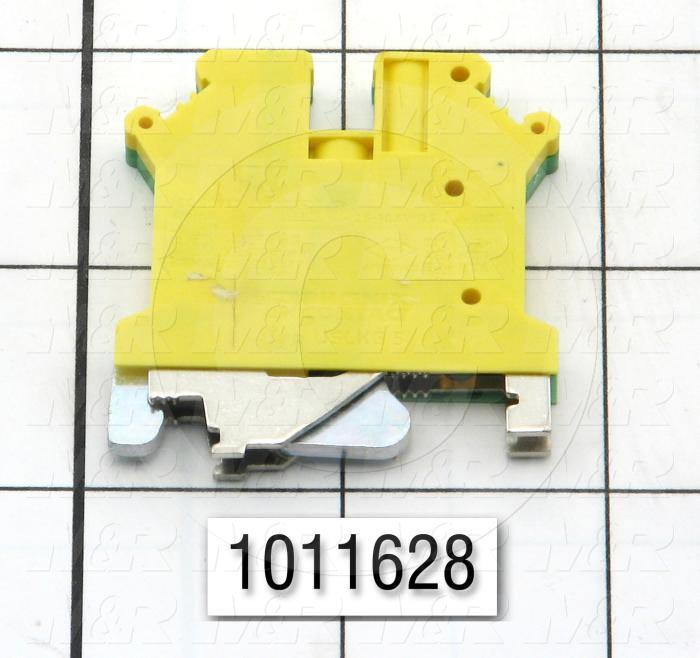 Terminal Block Cage Clamp, For Ground Block, 24V, 12A