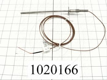 Thermocouple, Type J, 125 - Details
