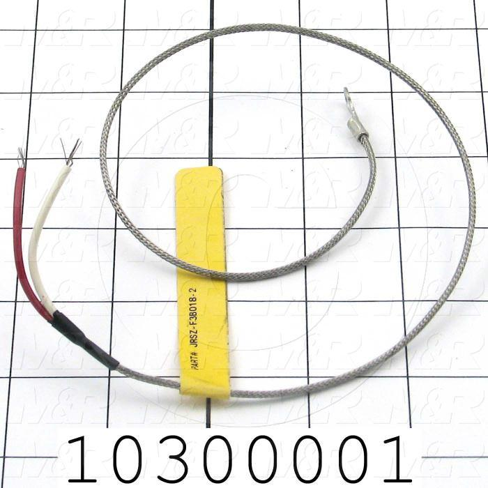 Thermocouple, Type J, 18""