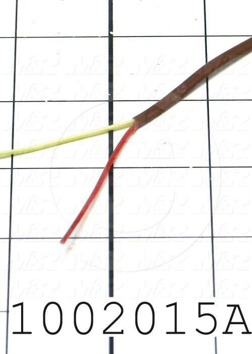 Thermocouple Wire, 20AWG, Type K Solid
