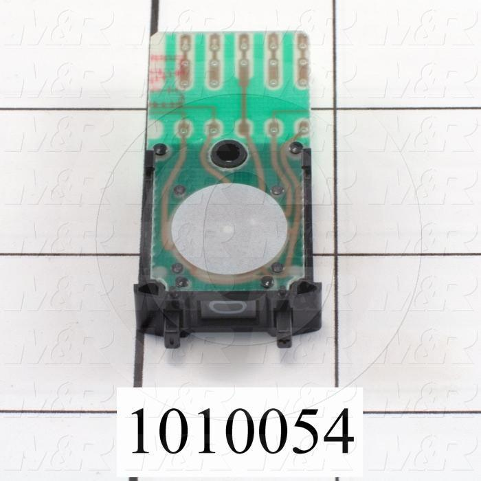 Thumbwheel Switch, Thumbwheel, BCD, with Connecting Diode, 50VAC - 28VDC, 0.1A (resistive load)