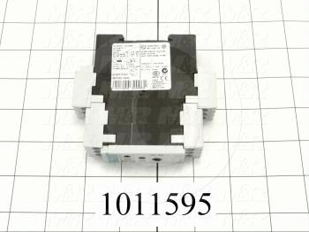 Time Delay Relay, 0.05-100 Hours Range, 1 SPDT, Multi Function, 200-240VAC/24VDC