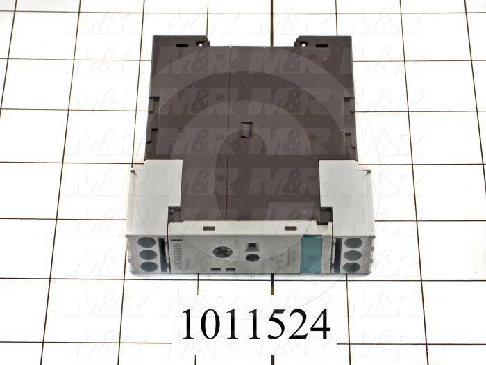 Time Delay Relay, 0.5-10 Second Range, 1 SPDT, On-Delay, 100-127VAC/24DC