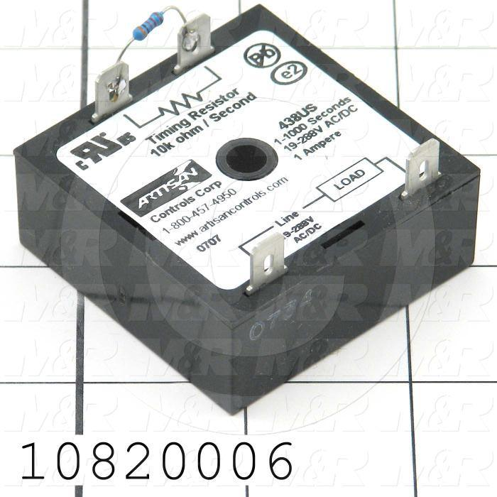 Timer, Universal Voltage, .25-5S, 1A Rating, 19-288V AC/DC