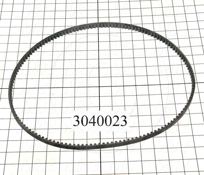 Timing Belt, Closed Type, GT Profile, 1120 mm Length, 12 mm Width, 140 Teeth