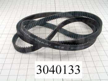 Timing Belt, Closed Type, GT Profile, 8 mm Pitch, 3600 mm Length, 21 mm Width, 450 Teeth