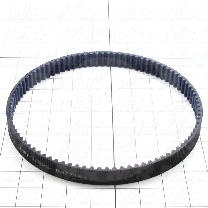 Timing Belt, Closed Type, GT Profile, 8 mm Pitch, 720 mm Length, 21 mm Width, 90 Teeth