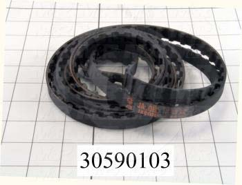 "Timing Belt, Closed Type, H Profile, 0.50"" Pitch, 109.5"" Length, 0.50"" Width, 219 Teeth"