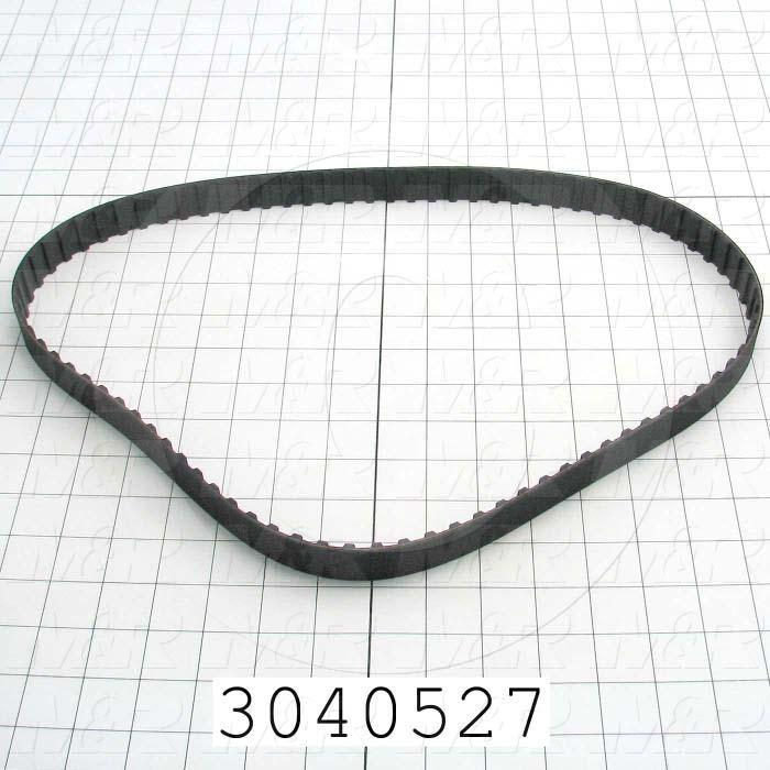 "Timing Belt, Closed Type, H Profile, 0.50"" Pitch, 42"" Length, 1.00"" Width, 84 Teeth"
