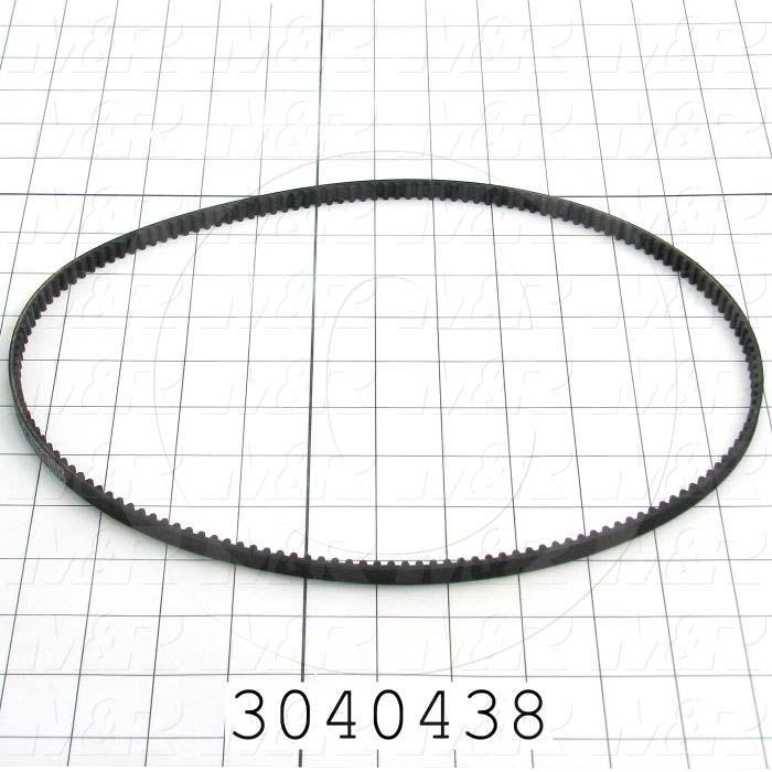 "Timing Belt, Closed Type, HTD Profile, 5 mm Pitch, 31.5"" Length, 9 MM Width, 160 Teeth"