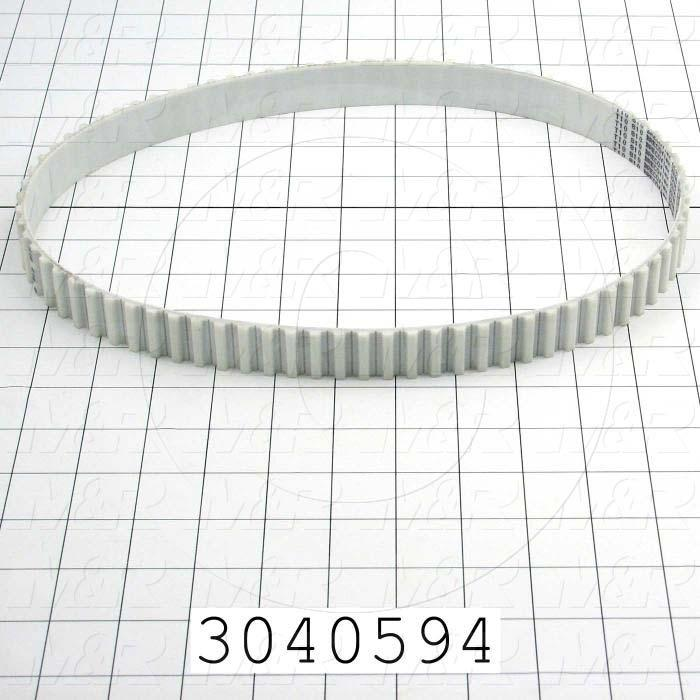 Timing Belt, Closed Type, T10 Profile, 10 MM Pitch, 810 mm Length, 25 mm Width, 81 Teeth