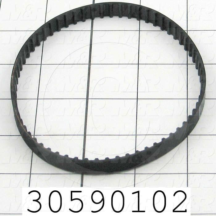 "Timing Belt, Closed Type, XL Profile, 0.20"" Pitch, 13"" Length, 0.38"" Width, 65 Teeth"