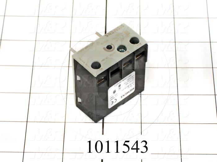 Timing Module, Off-Delay, 0.05-1 Sec, 24-66V AC/DC, Built-in Varistor, Use For Contactor 3RT102 Series