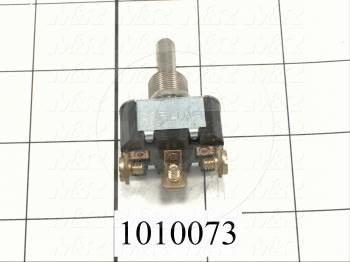 Toggle Switch, 2 Positions, SPDT
