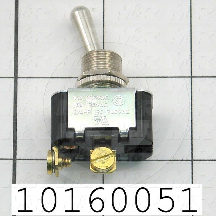 Toggle Switch, 2 Positions, SPST