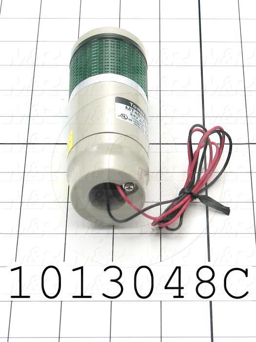 Tower Lights, Green, 24VDC