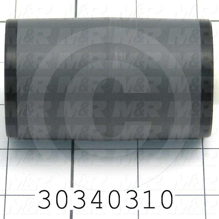 """Track Rollers, Crowned Type, 1.875"""" Roller Diameter, Standard Stud Type, 3.00"""" Roller Width, 0.50"""" Stud Diameter, 0.50"""" Bore Size, Ball Rolling Element, Face mounted Mounting Type"""