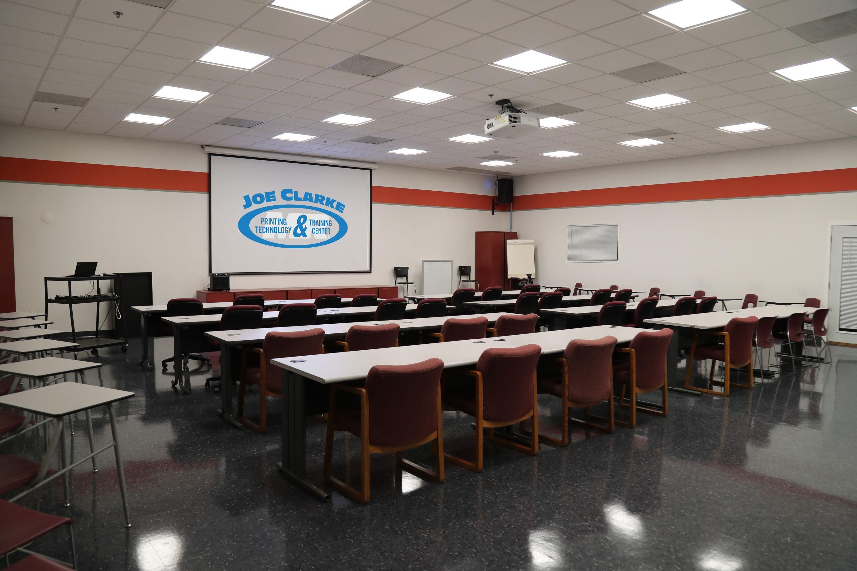 Joe Clarke classroom