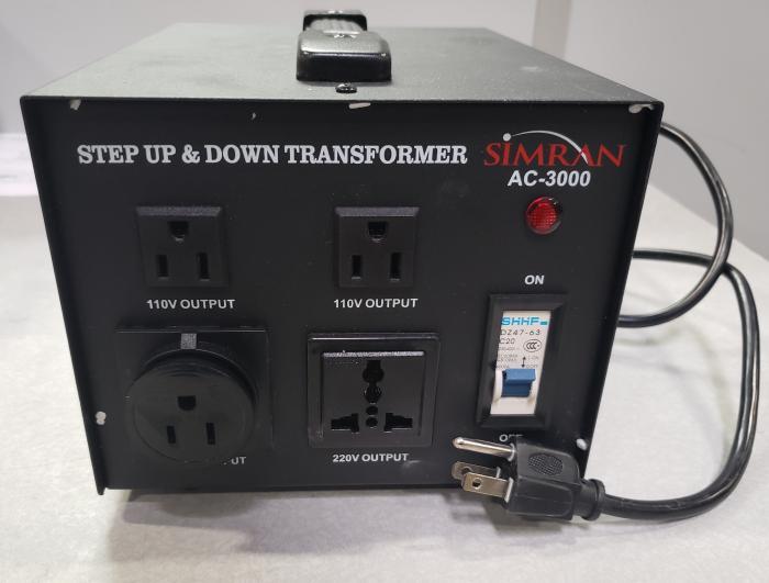 Transformer, Step Up/Down Voltage, 3KVA