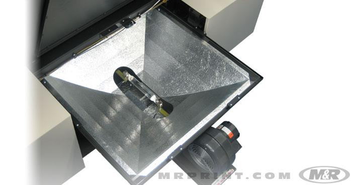 Tri Light Metal Halide Uv Screen Exposure System
